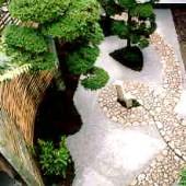 S邸 竹垣のある庭